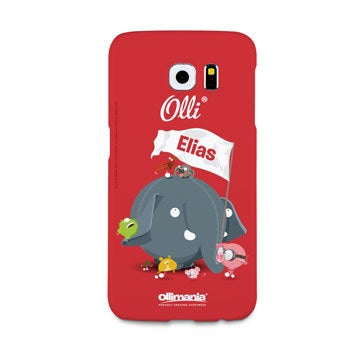Olli - Galaxy S6 - foto case rondom bedrukt