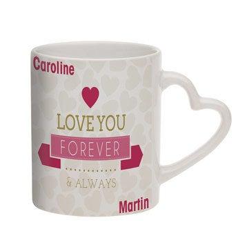 Mug I Love - avec texte