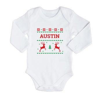 Vauvan ensimmäinen joulubody