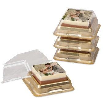 Individuelt indpakkede chokoladestykker