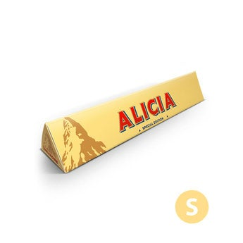 Barra de chocolate Toblerone  - 100 gramos