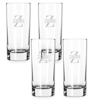 Hosszú italos pohár (4 darab)