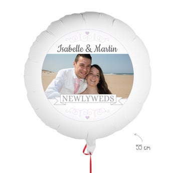 Ballon - Hochzeit