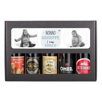 Confezione regalo birra - nonno (Belga)