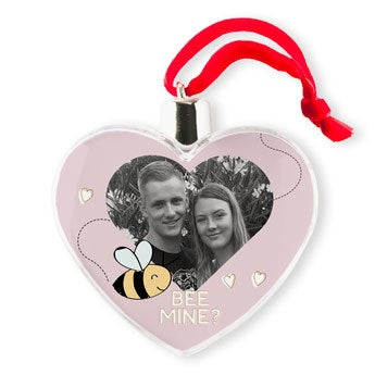 Adornos de Navidad - San Valentín - Transparente (2)