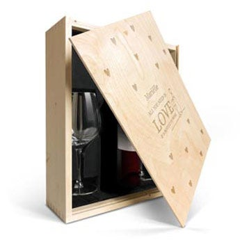 Wijnpakket met glas - Salentein Primus Malbec