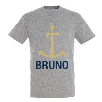 T-shirt - Homme - Gris