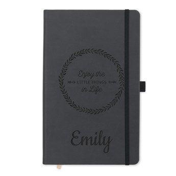 Cuaderno con nombre