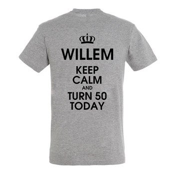 Heren T-shirt - Grijs