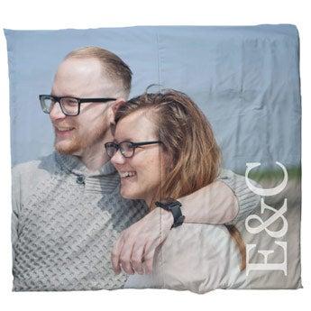 Personalised duvet cover - 240 x 220 cm