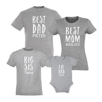 Matchende familie tøj