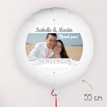 Ballong med bilde