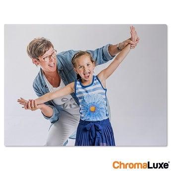 Chromaluxe Aluminium photo - Brushed - 10x15cm