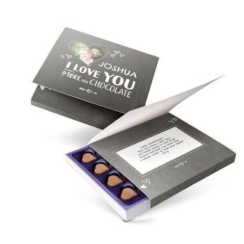 Personalised Milka chocolate gift box