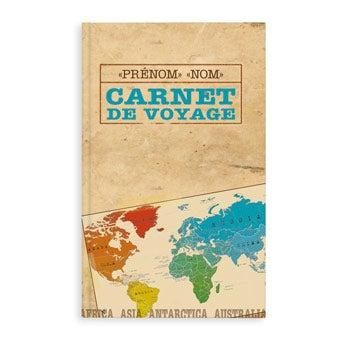Carnet de voyage personnalisé