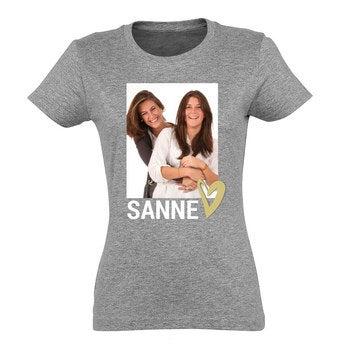 Dames T-shirt - Grijs