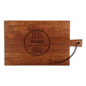 Wooden cutting board - Teak