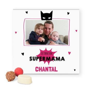 Personalised deluxe chocolates - Mother's Day
