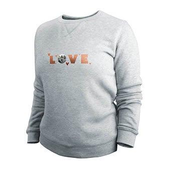 Pullover - Damen - Grau