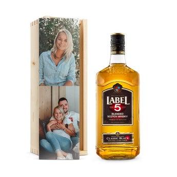 Label 5 - In Confezione Personalizzata