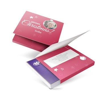 Eu amo Milka! giftbox - Natal (110 gramas)