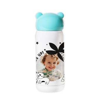 Gyerek vizes palack - kék
