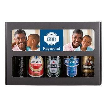 Personlig øl gave sæt