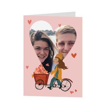 Valentýnská karta - M - vertikální
