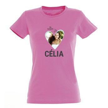 T-shirt - Femme - Rose