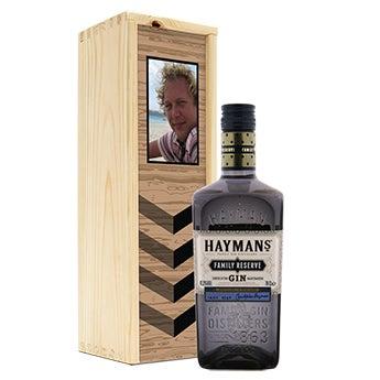 Liquor in personalised case