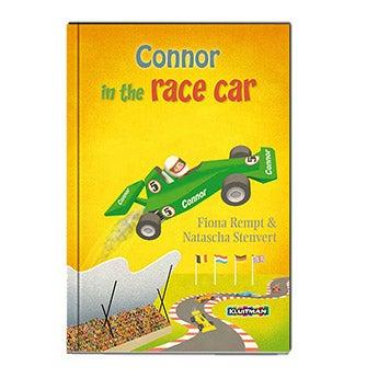 Danny in the race car