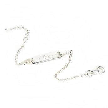 Bracelet gravé avec nom