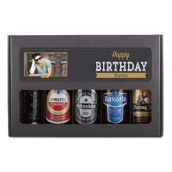 Beer gift set birthday - Belgian