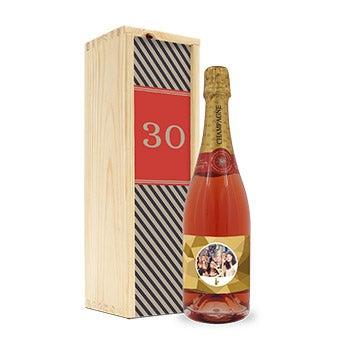 Champanhe personalizada
