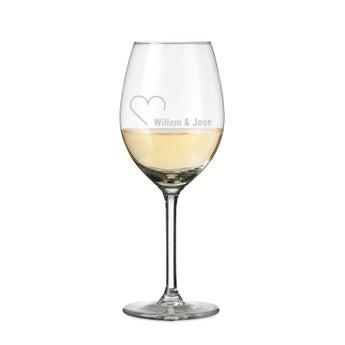 Wijnglazen - Wit