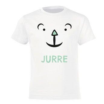 Kinder T-shirt - Wit