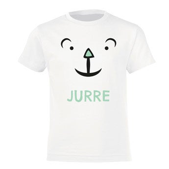 Lasten T-paita - valkoinen