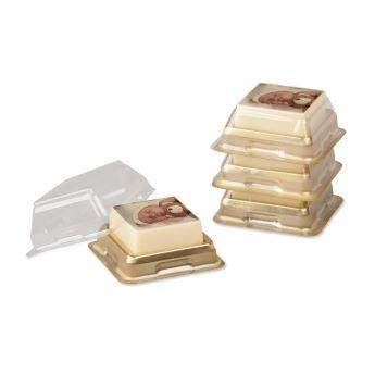 Chocolates com foto embalados individualmente