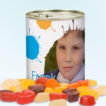 Tin av søtsaker
