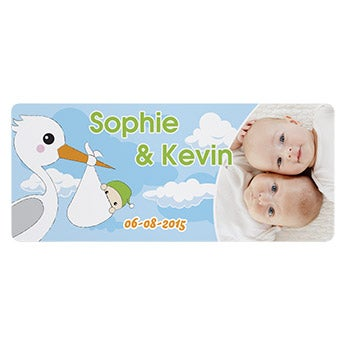 Baby name plaque