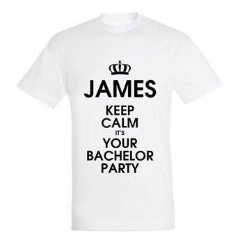 Koszulka męska - biała