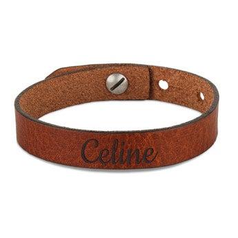 Leather bracelets - Women
