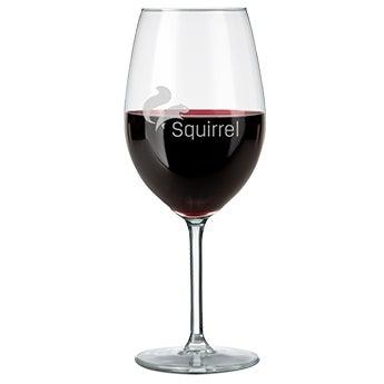 Rødvin glas