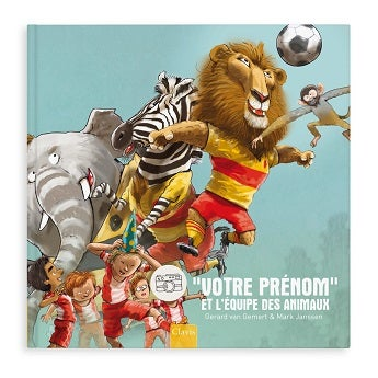 Livre football - L'équipe des animaux