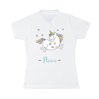 Poloshirt Damen - Weiß