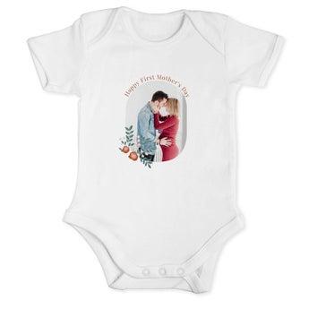 Ensimmäinen äitienpäivä - vauvan body - 50/56