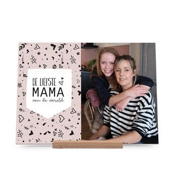 Dřevěné karty den matek