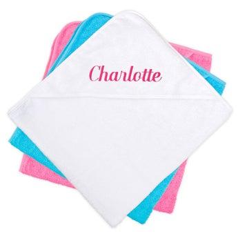 Asciugamano con Cappuccio per Neonati