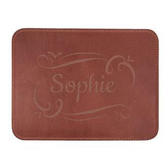 Leather mousepad