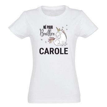 T-shirt Licorne - Femme